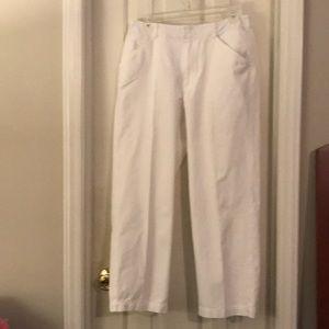 Size 12 - Vintage Liz Claiborne White Pants